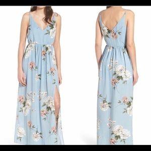 BP floral maxi dress!